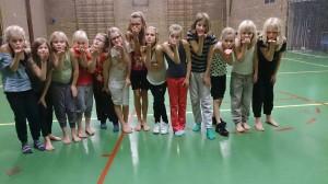 Streetdancers groep 1